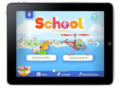 Usages de la tablette à l'école   LearnEnjoy pour les élèves en situation de #handicap   Vie numérique  à l'école - Académie Orléans-Tours   Scoop.it