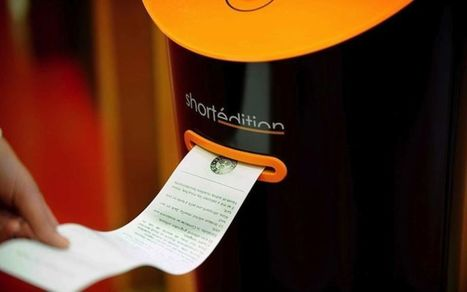 Grenoble introduces short story dispensers in public areas | Konbini | How to find and tell your story | Scoop.it