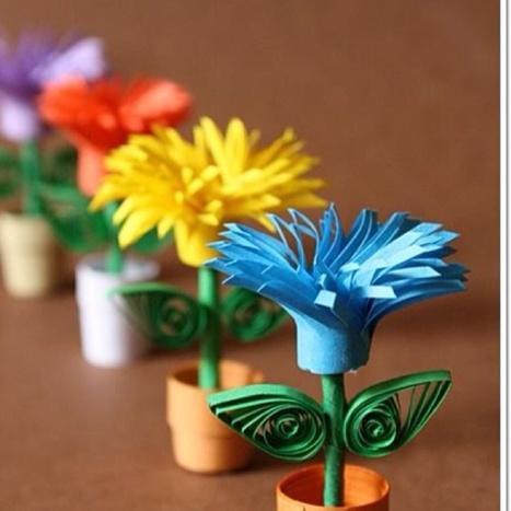 15 flors creatives per decorar la primavera | Posts d'Educació i les TIC | Scoop.it