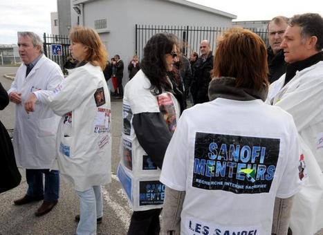 Sanofi : premiers départs dans un mois   Les Sanofi   Scoop.it