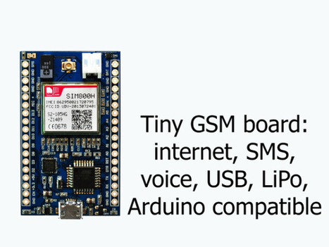 MicroLink is like a tiny Arduino with GSM   AVR & Arduino   Scoop.it