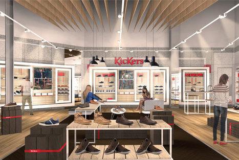Kickers révèle son nouveau concept de magasin