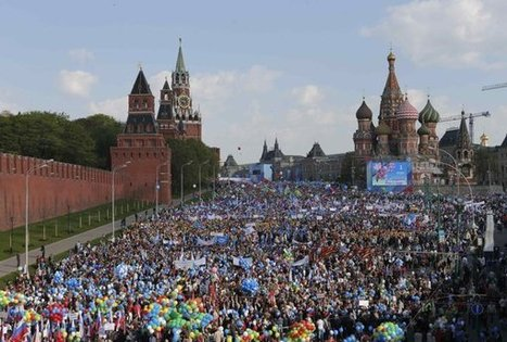Russia stages first Red Square May Day parade since Soviet days | Upsetment | Scoop.it