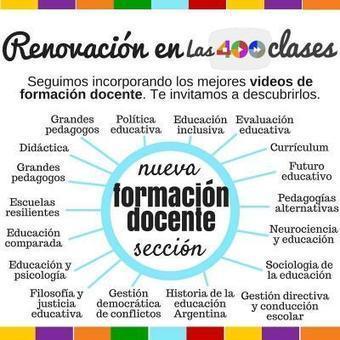 La colección más completa de videos para la formación docente | Las 400 clases | Educació inclusiva i Noves Tecnologies | Scoop.it