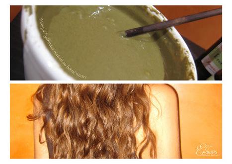 journal capillaire dedelweiss masque hydratant au henn neutre henn coloration cheveux - Henn Coloration Cheveux