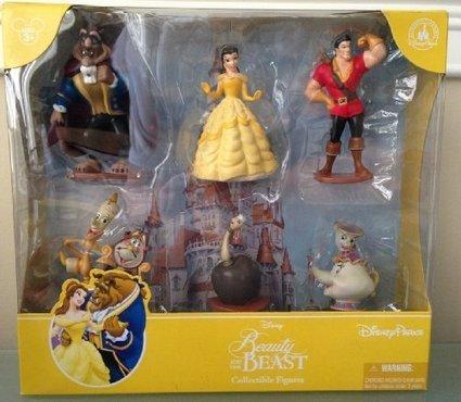 disney Beauty and the Beast  figures figure set of 10pcs best gift U84 NEW