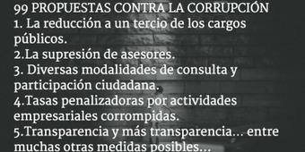 RSE.- 99 propuestas reales contra la corrupción ([descarga} | Smarts Governments, Smarts Cities | Scoop.it