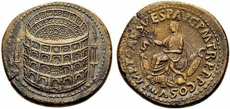 Orichalcum Sestertius of Titus Flavius Caesar | Roma Antiqua | Scoop.it