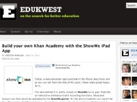 ShowMe - The Interactive Learning Community | Apps for your class | Scoop.it