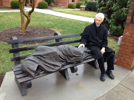 Statue Of A Homeless Jesus Startles A Wealthy Community | Working and serving the new homeless | Scoop.it