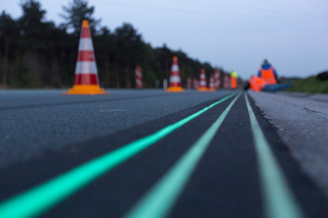 Smart Highway: Glow-in-the-Dark Road in The Netherlands | PROYECTO ESPACIOS | Scoop.it