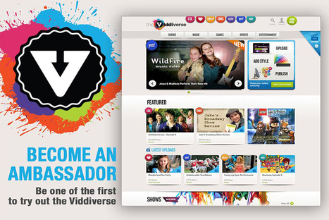 New kids social network Viddiverse goes live | Young Adult and Children's Stories | Scoop.it