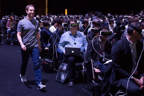 This image of Mark Zuckerberg says so much about our future   New media environment   Scoop.it