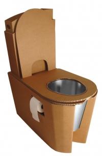 Des toilettes sèches en carton | architecture verte | Scoop.it