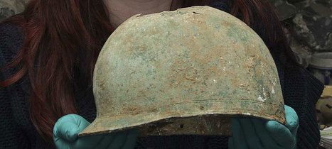 Bronze helmet containing cremation found in south east England | Archaeology News | Scoop.it