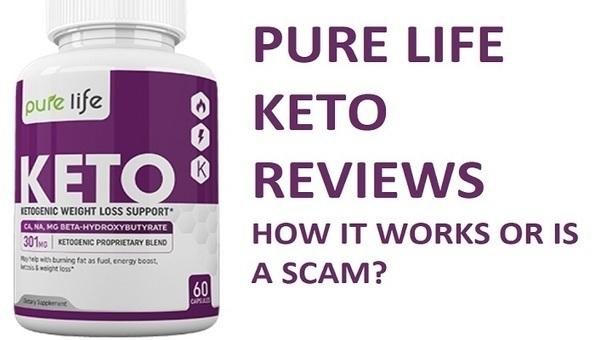 pure life keto diet pill