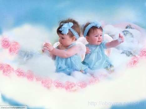 Cute Twins Baby Pictures Wallpapers