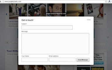 Convert The Mailto Hyperlinks On Your Blog Into Contact Forms - Blogs Daddy | Blogger Tricks, Blog Templates, Widgets | Scoop.it