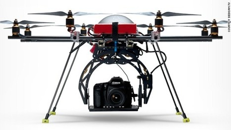 How robotic drones will change our lives as early as 2015 | Communication design | Scoop.it