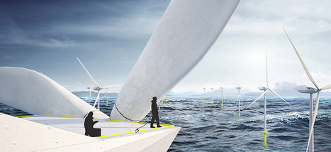 off-shore wind turbine lofts by morphocode - designboom | Contemporary Art, Design and Technology | Scoop.it
