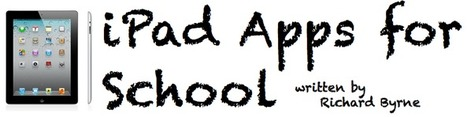 iPad Apps for School | iPads 1-to-1 in the Elementary Classroom | Scoop.it
