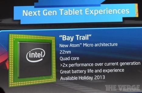 Intel annonce l'architecture Silvermont pour les puces Atom et mentionne les Xeon | Apple, IMac and other Iproducts | Scoop.it