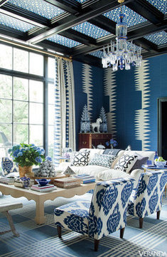 Your Ikat Inspiration File: 24 Stunning Rooms | Designing Interiors | Scoop.it