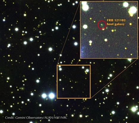 "Discovery: Mysterious radio burst came from a galaxy 2.5 billion light years away -""That's how science works — it's surprising, sometimes silly and almost always messy, especially when it involves ... 