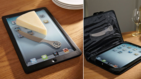 An iPad You're Actually Supposed to Cover in Crumbs | Somewhat Quirky! | Scoop.it