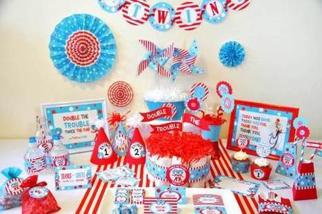Twins In Baby Shower Decoration Ideas Scoopit