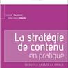 Stratégie de contenus web