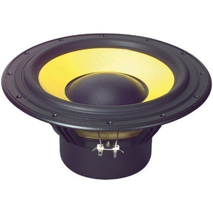 """Visaton W130S-8 5/"""" Woofer with Treated Paper Cone 8 Ohm"""