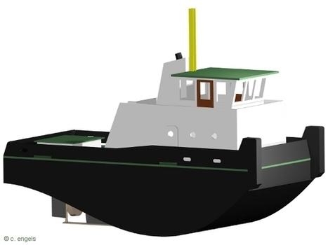 Hafenschlepper Mini-Max - SchiffsModell.net | S...
