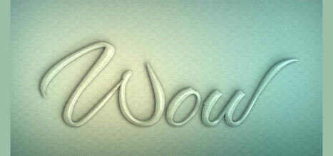 20 Amazing Photoshop Text Effects | timms brand design | Scoop.it