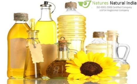 Certified Organic Oils India' in Natures Natural India