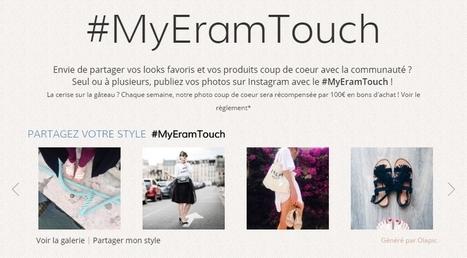 Éram présente sa stratégie digitale : e-commerce, UGC via Instagram, chaussure connectée...   Communication 360°   Scoop.it