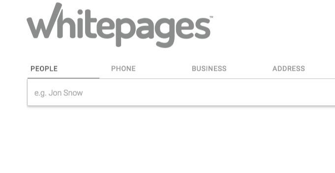 Whitepages Premium