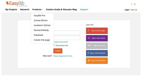 Create the Perfect Title Page with EasyBib | EasyBib | Scoop.it