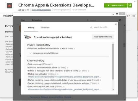 Une extension Chrome pour les surveiller toutes, Chrome Apps & Extensions Developer Tool   Les Infos de Ballajack   Google Chrome (FR)   Scoop.it