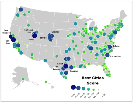 2013's Best Performing American Cities | Sustainability Science | Scoop.it