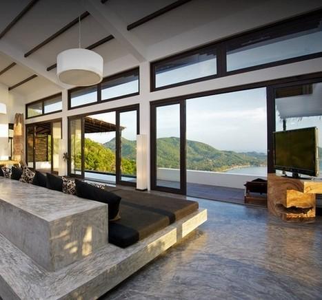 Casas del Sol – luxury boutique villa on the island of Koh Tao, Thailand | Interior Design and Architecture | Interior & Decor | Scoop.it