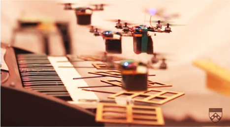 Des quadricoptères jouent la musique de James Bond | NoDrone | Scoop.it