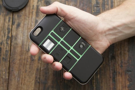 Nexpaq is a modular case that adds incredible new features to the iPhone 6 or Galaxy S6 | Sentient Identity | Scoop.it
