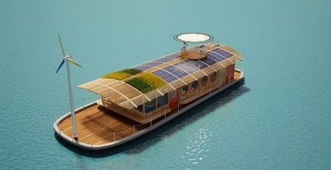 Egypt's Green-Roofed Bio Boat Entirely Wind and Solar Powered ... | Green Eco energy cyprus | Scoop.it