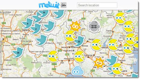 Metwit, informes meteorológicos en tiempo real   WEBOLUTION!   Scoop.it