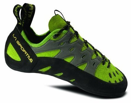 48a00b6d8b58da La Sportiva Tarantulace Climbing Shoe Kiwi   Grey 42