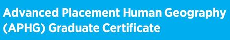 APHG Graduate Certificate Program | Sizzlin' News | Scoop.it
