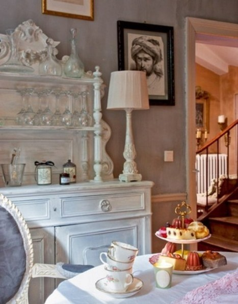 48 Charming French Dining Room Design Ideas | Designing Interiors | Scoop.it