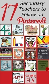 Mrs. Orman's Classroom: Top Secondary Teachers to Follow on Pinterest | Common Core Resources for ELA Teachers | Scoop.it