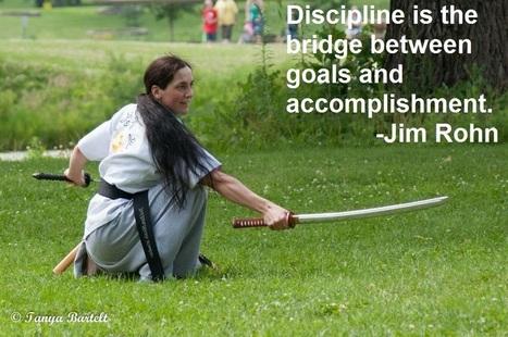 Discipline is the bridge between goals and accomplishment   Good Advice   Scoop.it